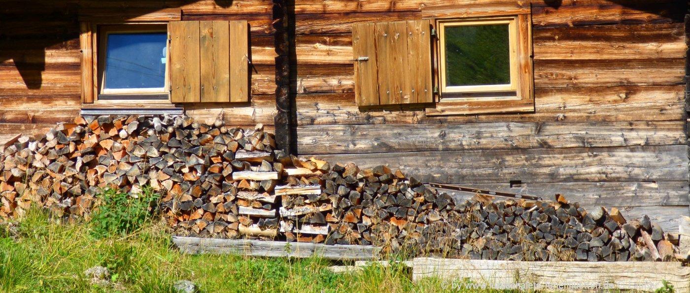 Berghütten, Selbstversorgerhäuser und Gruppenunterkünfte im Allgäu