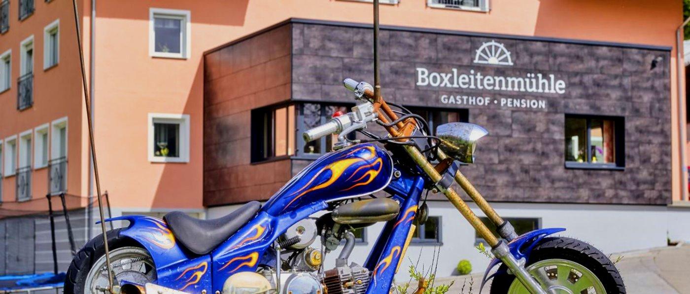 Biker Pension mit Übernachtung Motorradgasthof in Bayern