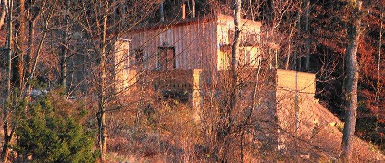 Einsame Berghütte im Bayerischen Wald für 2 Personen