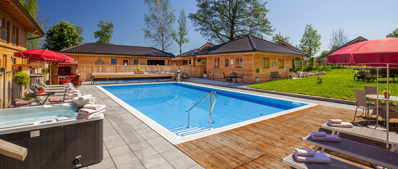 Luxus Chalet Berchtesgadener Land Ferienhaus mit Sauna und