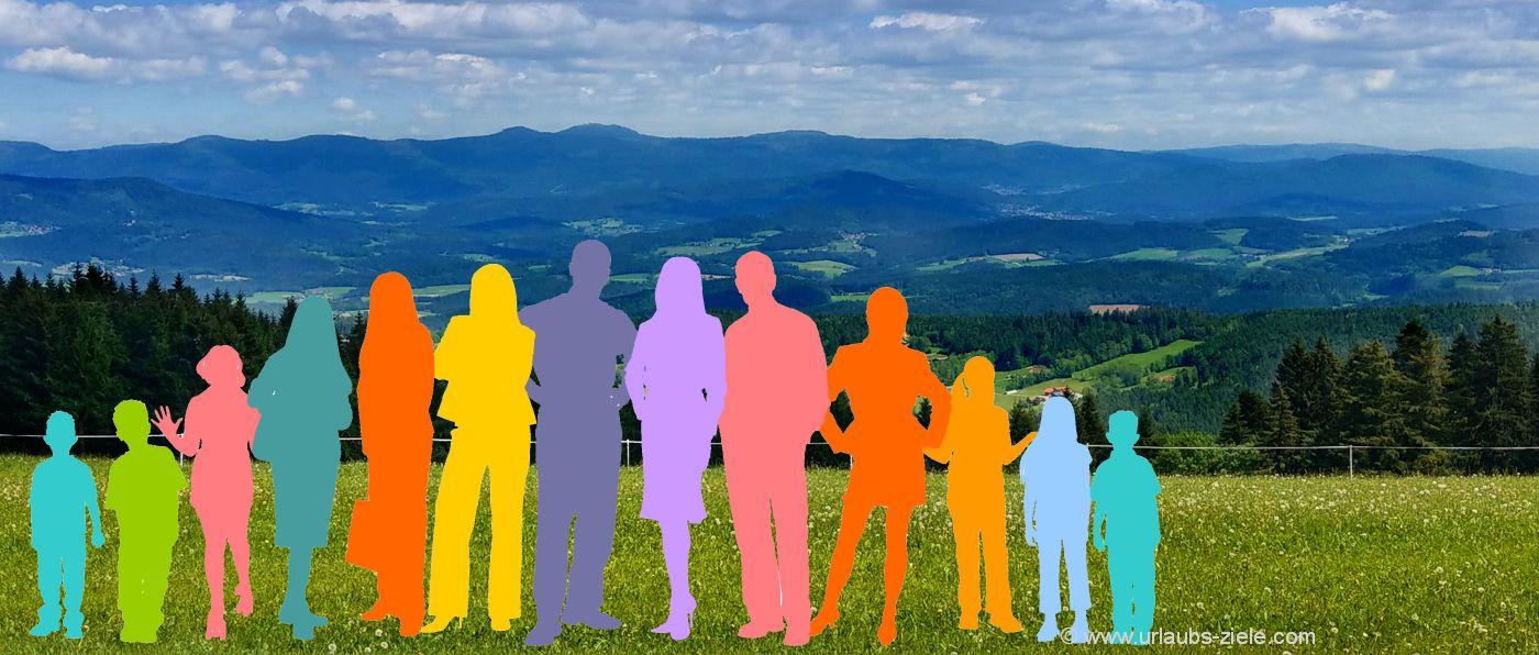 gruppenurlaub-bayern-hüttenwochenende-bayerischer-wald-freunde