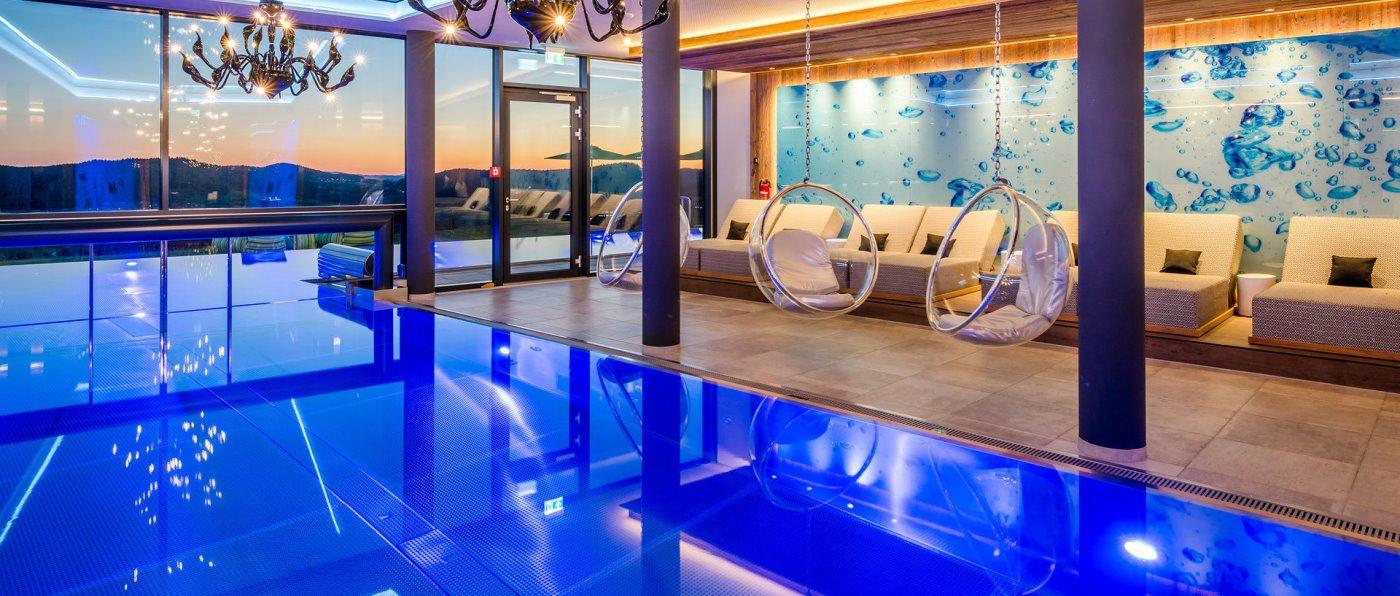 Deutschland Wellnesshotel mit Infinity Pool in Bayern