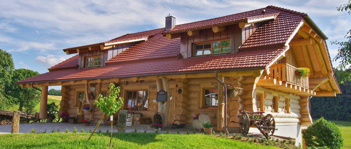 Urlaub im Holzhaus in Bayern Exklusiver Blockhaus Urlaub in Deutschland