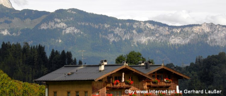 Ferienhäuser, Berghütten und Luxus Chalets bei Kitzbuhel mieten