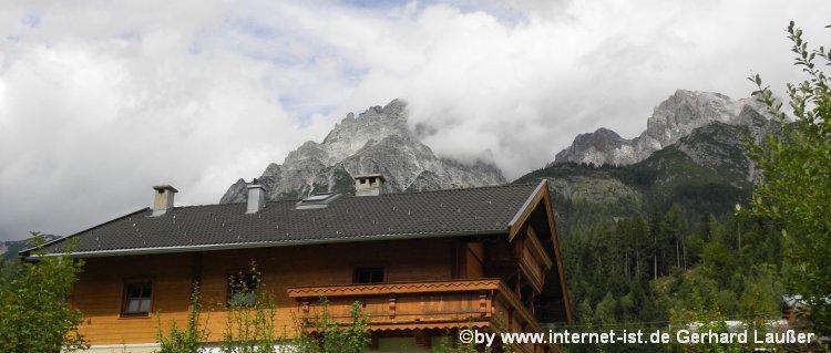 Chalet im Salzburger Land Berghütten und Selbstversorgerhütten