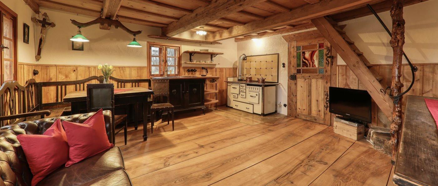 Exklusive Ausstattung im Woidhaisl - urig romantisches Ferienhaus in Spiegelau